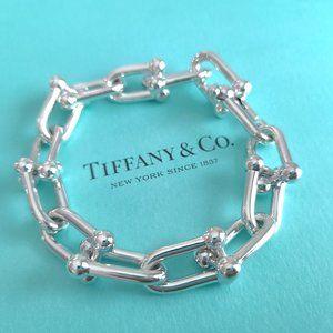 """Tiffany & Co 925 Hardwear Large Link 7.5"""" Bracelet"""